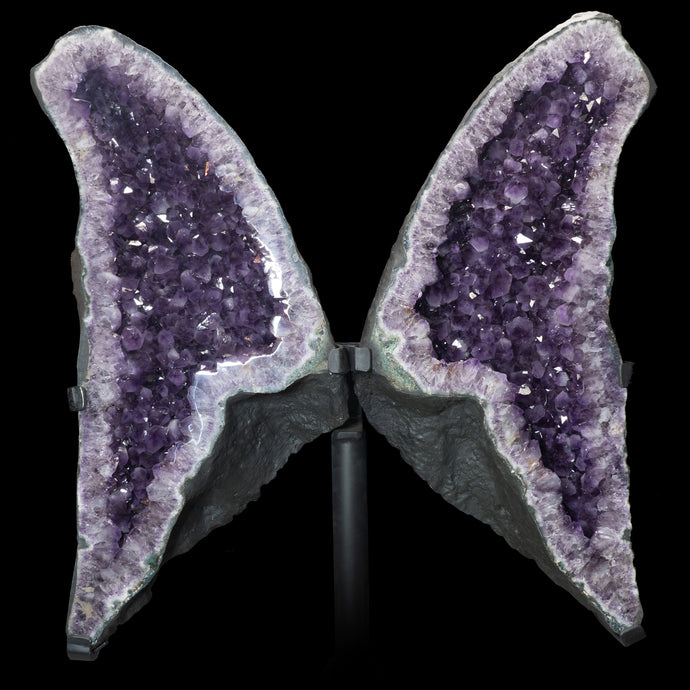 AMETHYST ANGEL WINGS