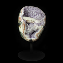 Load image into Gallery viewer, AMETHYST GEODE with CALCITE BAR