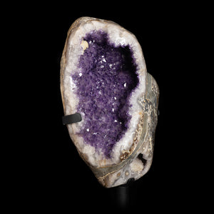 AMETHYST GEODE with AGATE