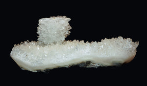 QUARTZ CLUSTER with STALAGTITE TOWER