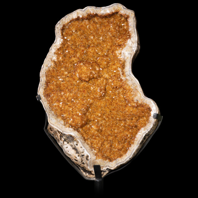 EXTRA LARGE CITRINE CLUSTER
