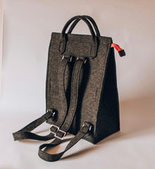 Felt Backpack | Lux Felt London, UK
