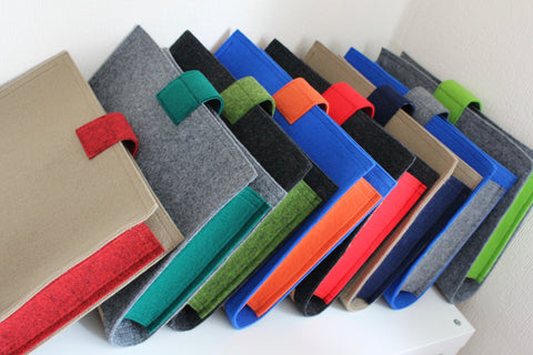 Office folders, holders, home office | Lux Felt London, UK