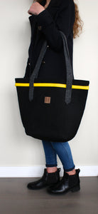 Chloé in Black with Yellow