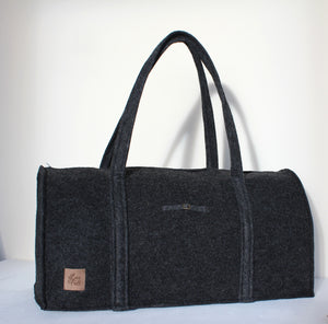Suzan Travel Bag in Dark Grey