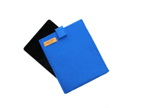iPad/Tablet Sleeve in Sapphire Blue