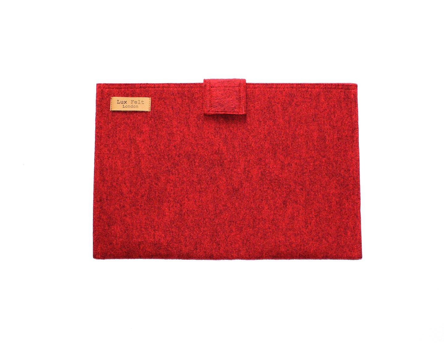 Laptop Sleeve in Melange Red