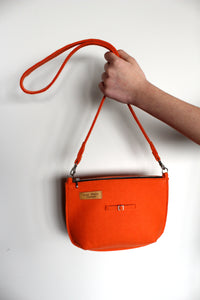 Teddy Bag in Tangarine