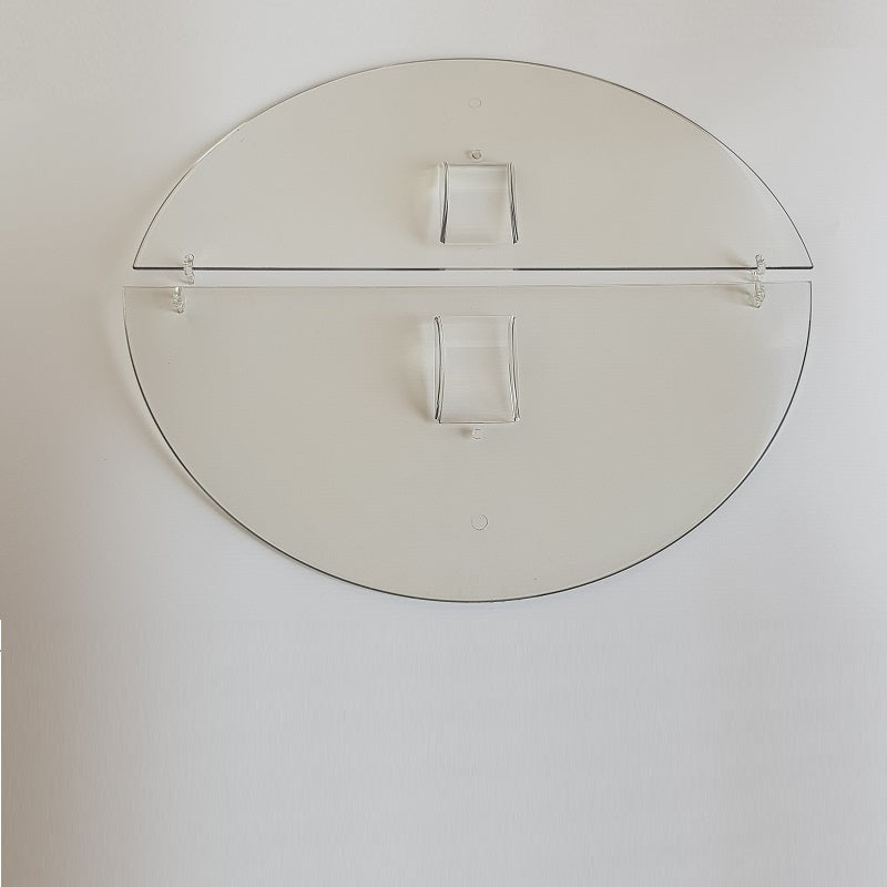 Clear Polycabonate Half-Lid for 4 Frame Extractor Set (2)