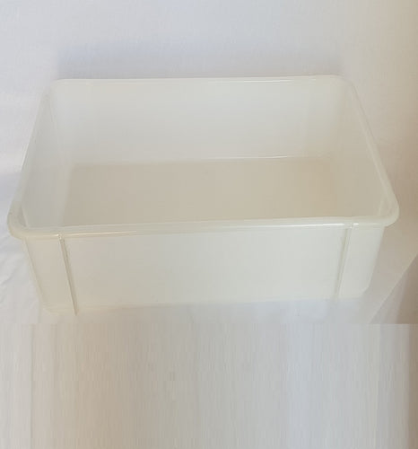 Plastic Uncapping Tub with Solid Base