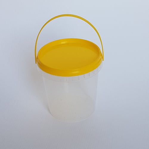 Pail 760ml with Yellow Lid