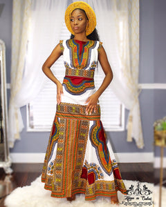 """Life of A Royal"" Women's Ankara Dress"