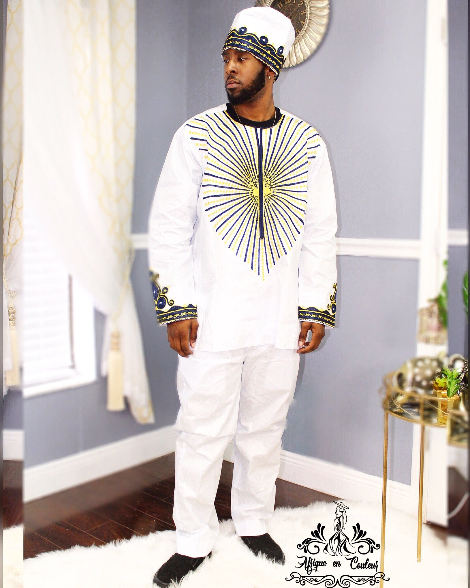 """Dripping In Gold"" Men's Set"