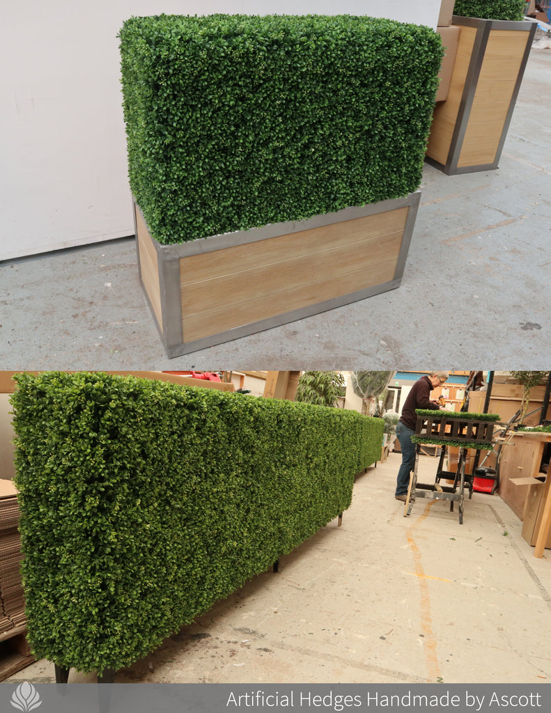 Artificial Hedges - Boxwood hedges handmade by Ascott