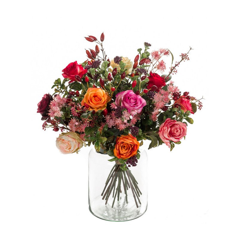 Flame Roses Bouquet