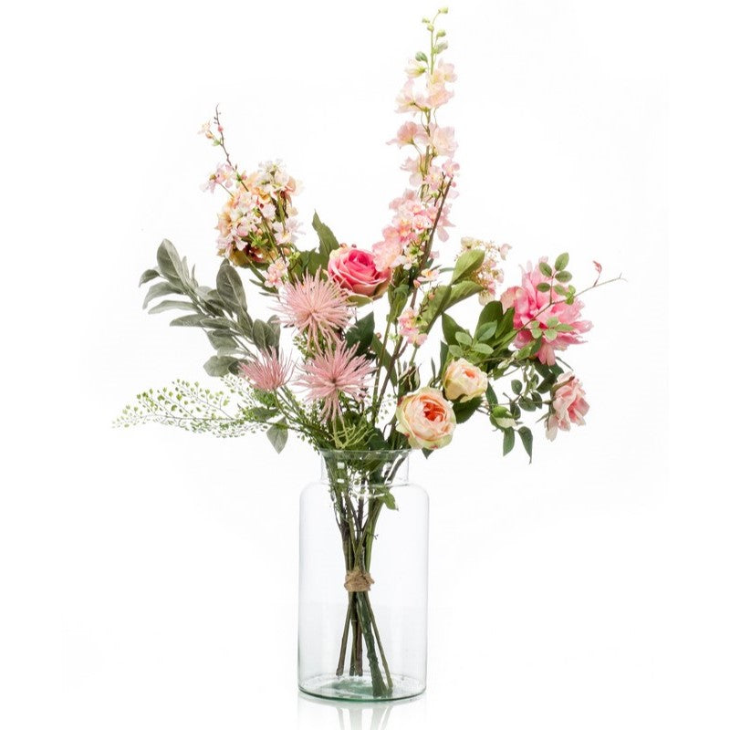 Pretty Pink Flower Bouquet