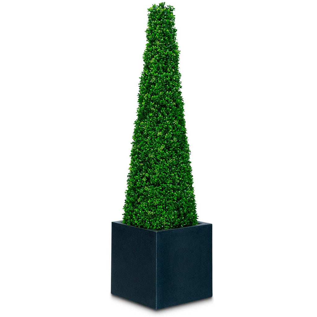 Artificial Topiary Boxwood Cone
