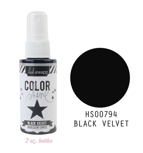 Color Shine Spray Black Velvet