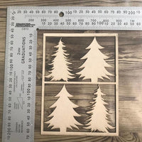 Christmas Tree Chipboard