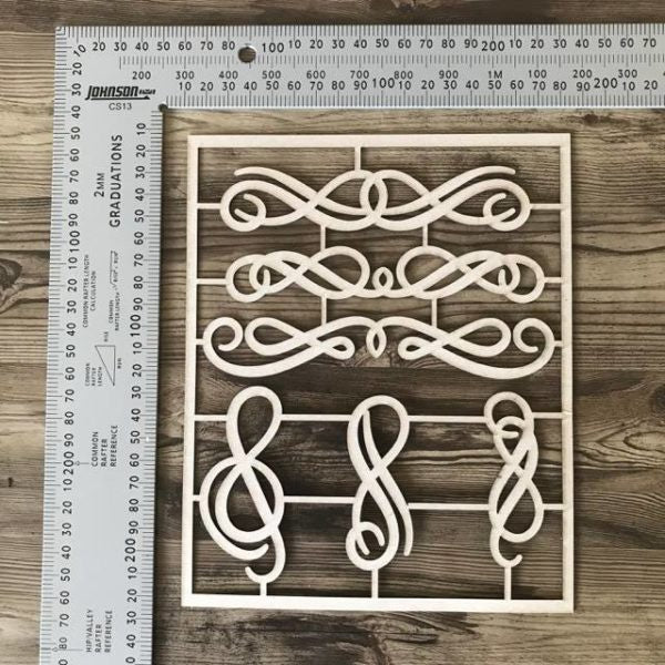 Flourishes Set of 6