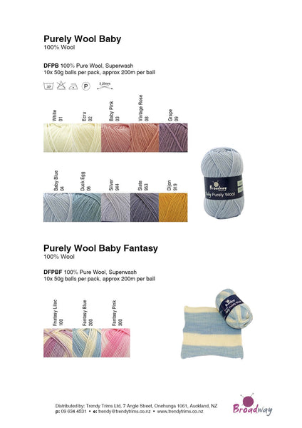Fantasy Baby Purely 4ply