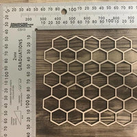 Honeycomb Texture Pattern