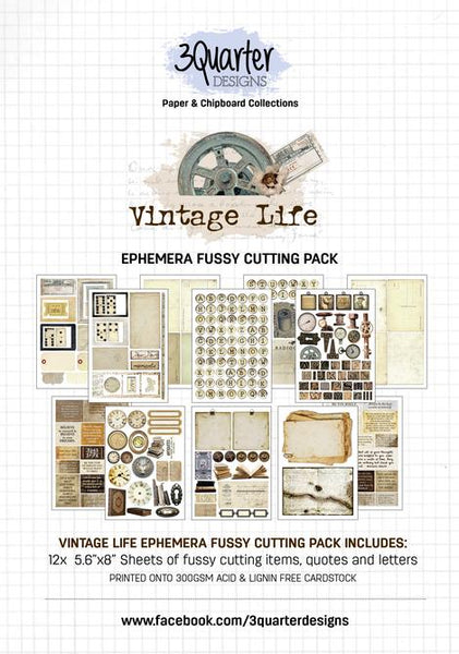 Ephemera Fussy Cutting Pack