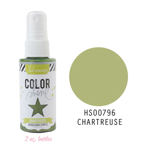 Color Shine Spray Chartreuse