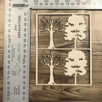 Trees Set of 4
