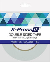 Double Sided X-Press IT Tape 3mm
