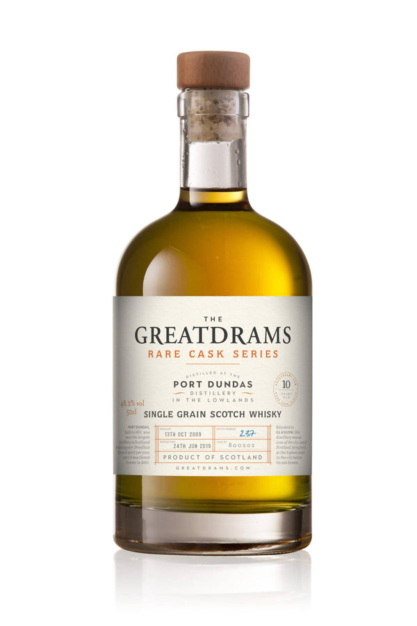 PORT DUNDAS LIMITED EDITION SINGLE GRAIN SCOTCH WHISKY