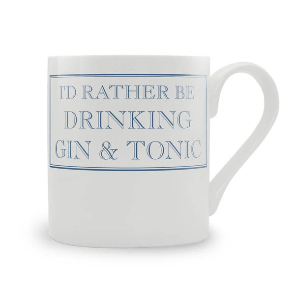 'I'd rather be….' Mugs