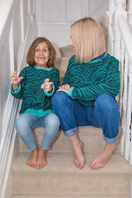 Load image into Gallery viewer, Green Skin Adult and Children's Sweatshirt