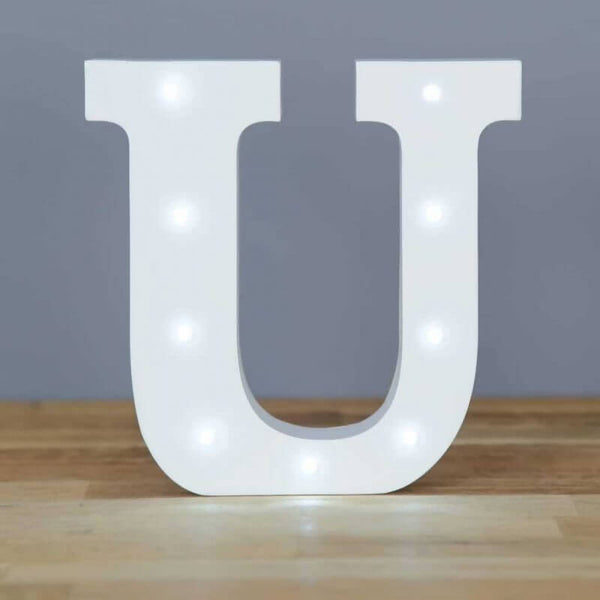 Up in Lights Alphabet Letters