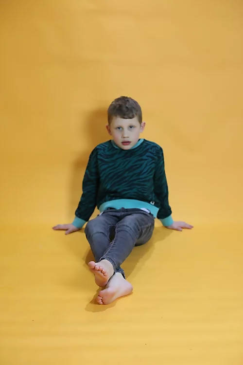 Green Skin Adult and Children's Sweatshirt