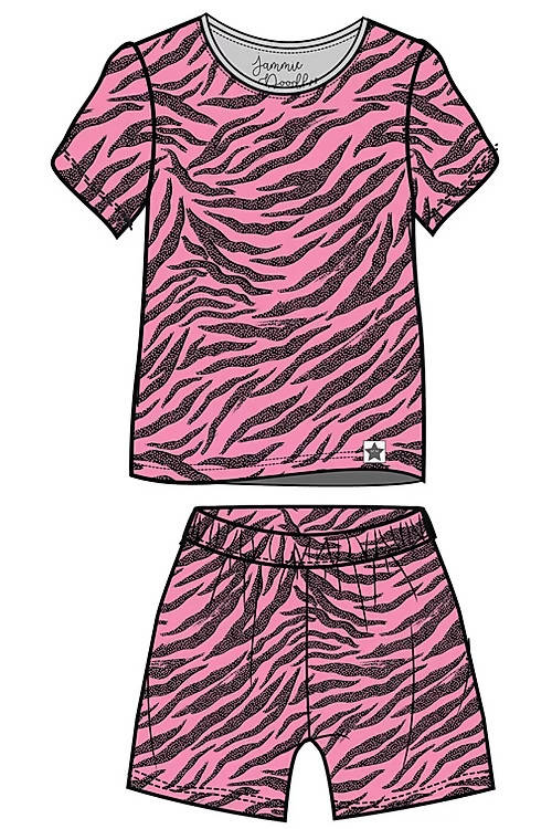 Pink Skin Children's Shortie Set