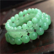 Load image into Gallery viewer, Natural Aventurine Round Beaded Bracelet