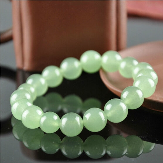 Natural Aventurine Round Beaded Bracelet