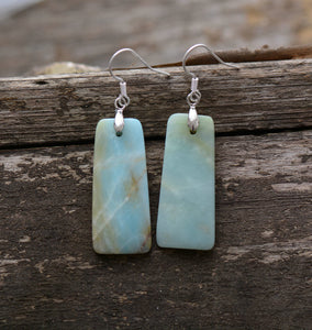 Natural Amazonite Bohemia Earrings
