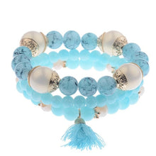 Load image into Gallery viewer, The 3 Piece Charmer - Beaded Bracelets
