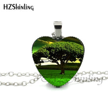 Load image into Gallery viewer, Tree of Life Heart Pendant