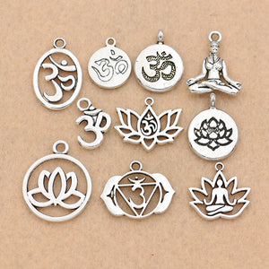 Mixed Silver Plated Charms
