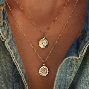 The Star ,The Sun & The Moon - Choker Necklace