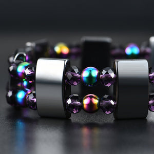 Magnetic Hematite Therapy Bracelet
