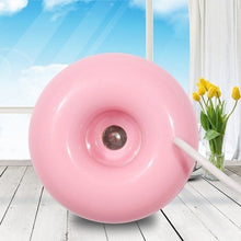 Load image into Gallery viewer, Mini USB Donut Humidifier/Air Purifier/ Aroma Diffuser