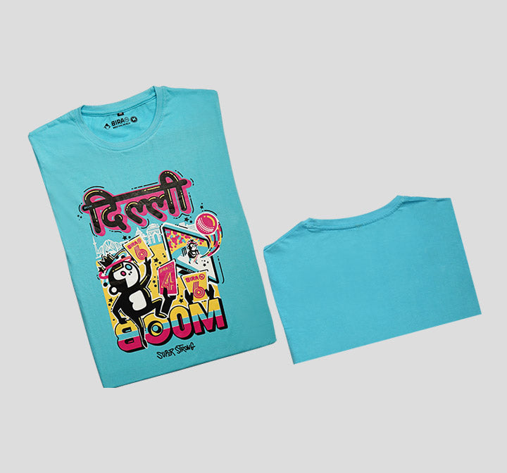 Bira 91 Boom Feat. Delhi Graphic T-Shirt