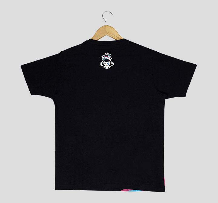 Bira 91 Boom Explosion Side T-Shirt - Black