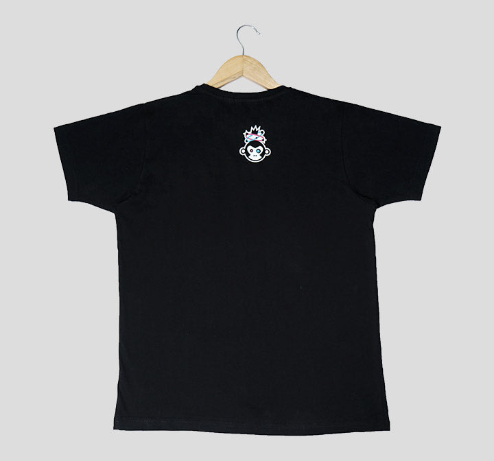 Bira 91 Boom Explosion Outline T-Shirt - Black