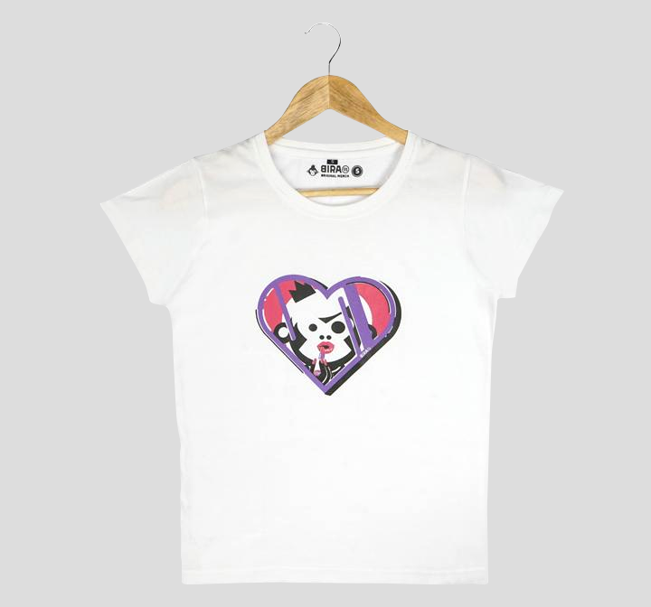 Bira 91 Makeup Maven Graphic T-shirt - White