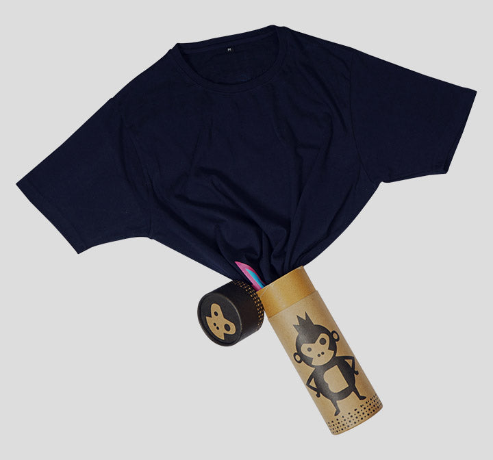 Bira 91 Boom Explosion Side T-Shirt - Navy Blue